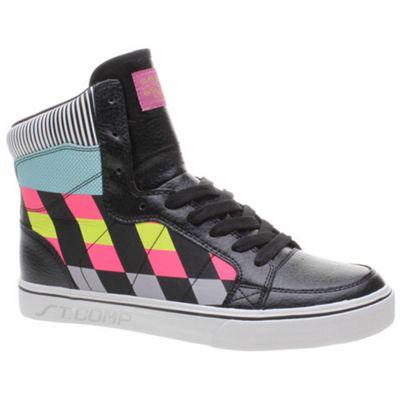 Quiksilver Regal High CVS Black/Multi Shoe