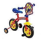 """Fireman Sam Kids 2 In 1 Convertible Training Balance Bike - 10"""" Wheel"""
