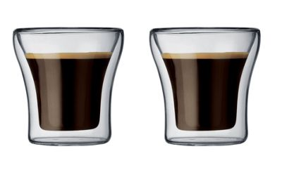 Bodum Assam Double Wall Thermo Glasses 0.1L, Set of 2