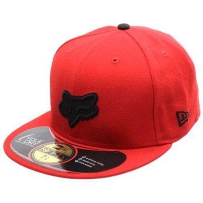 Fox Tune Up New Era Cap - Red Size: 7 1/2 inch