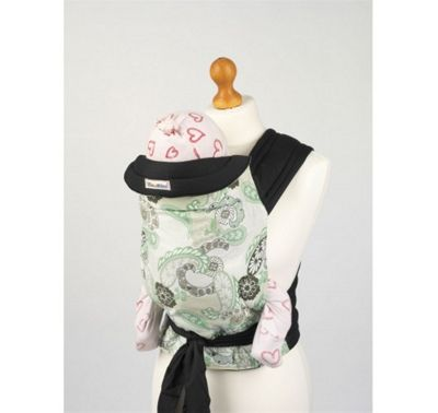 Palm and Pond Mei Tai Baby Carrier – Celadon Paisley