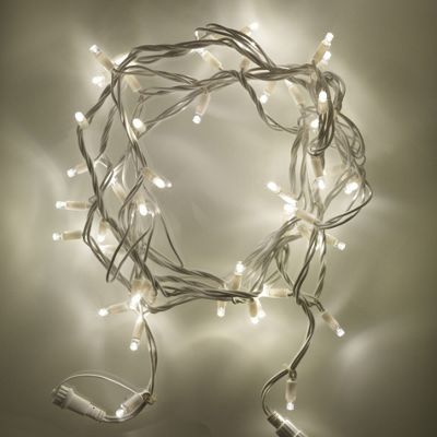 150 Warm White LED Connectable 15m Outdoor String Lights on White Cable - Buy 150 Warm White LED Connectable 15m Outdoor String Lights On