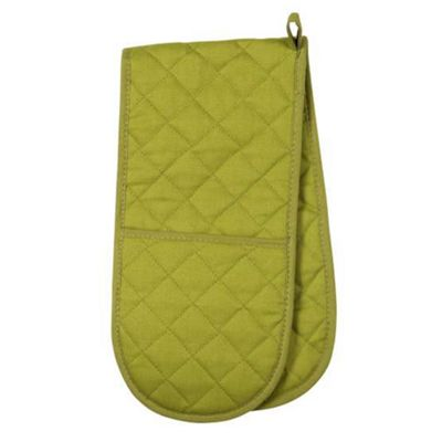 Now Designs Colour Centre Double Oven Glove, Cactus Green