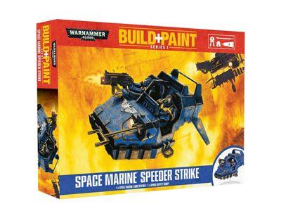 Warhammer 40000 Space Marine Speeder Strike Build and Paint Set