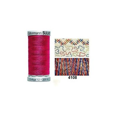 Gutermann Sulky Variegated Cotton 200m American Antique