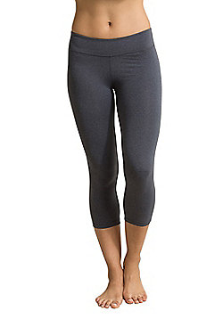 Zakti Featherweight Capri Leggings - Grey