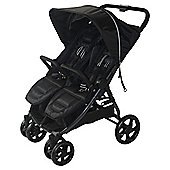 Red Kite Push Me Twini Jogger Pushchair, Carbon