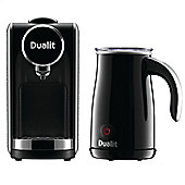 Dualit Lusso Coffee Machine & Milk Frother