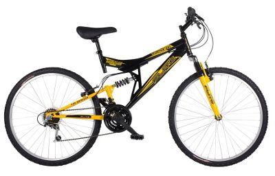 Flite Taser 26 Inch 18-Speed Dual Suspension Mens' Mountain Bike