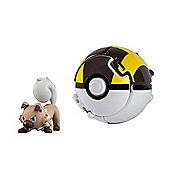Pokemon Throw 'N' Pop Ultra Ball - Rockruff