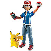 Pokemon Ash & Pikachu Figure Set