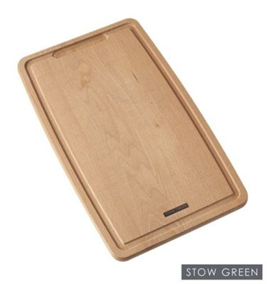 Stow Green FSC Beech Wood Shaped Chopping Board Large 39cm x 23cm