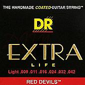 DR Red Devils Light Strings