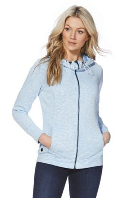 Regatta Ramosa Zip-Through Hoodie Blue 16