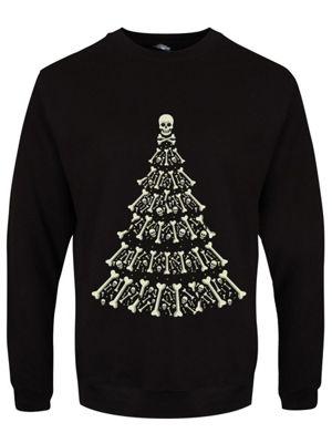Alternative Men's Xmas Sweater, Black.