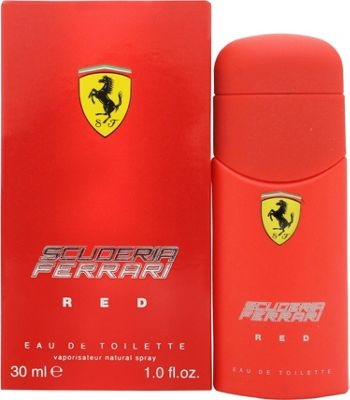 Ferrari Scuderia Ferrari Red Eau de Toilette (EDT) 30ml Spray For Men
