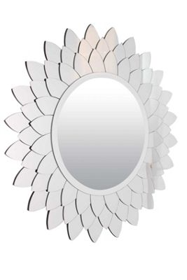 Large New Modern Sunflower Inspired Venetian Design Big Wall Mirror 3Ft (90cm)