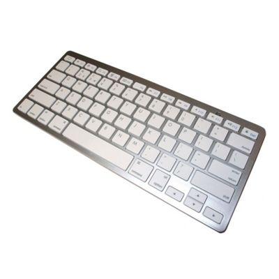 Dynamode LMS DATA Bluetooth 3.0 Wireless Keyboard Silver (KDB-BT-S)