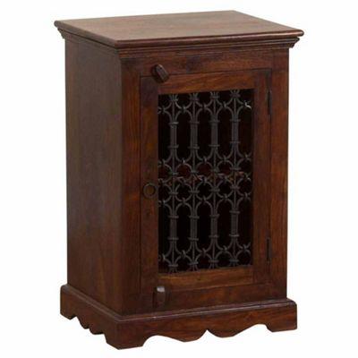Homescapes Takhat Bed Side Cabinet