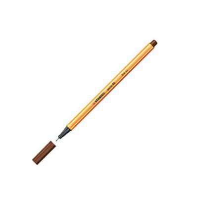 Stabilo Point 88 Fineliner Pen Brown 45