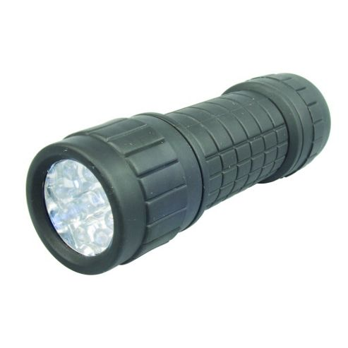 9 LED Rubber Torch
