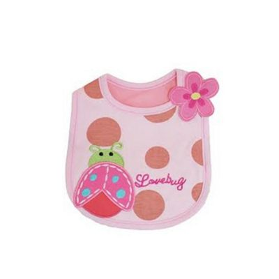 Cuddles Collection Bib (Love Bug)