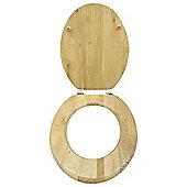 Light Wood Toilet Seat