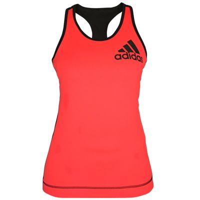Adidas Ladies Running Vest Pink Black Size 4-6 XS