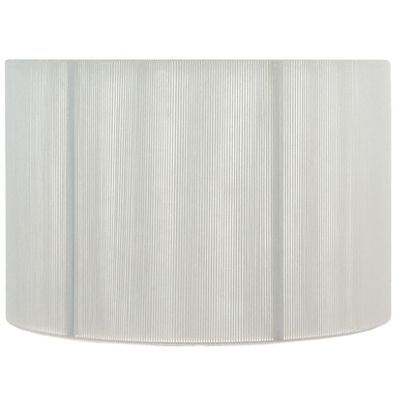 35cm Ivory Silky String Drum Shade