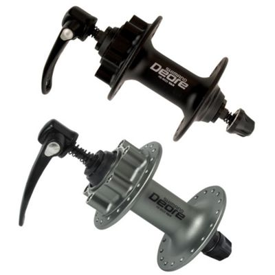 Shimano M525 Deore 6-Bolt Disc Front Hub - Silver 36H