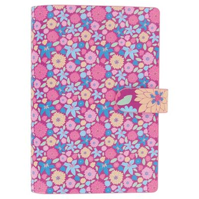Filofax Pocket Organiser,Floral Bloom