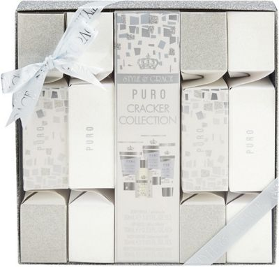 Style & Grace Puro Cracker Collection Gift Set 15ml Lip Gloss + 30ml Body Polish + 30ml Body Wash + 30ml Body Lotion