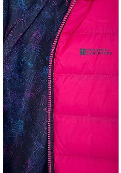 Mountain Warehouse Link Girls Padded Jacket - Pink