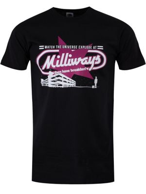 Milliways Men's T-shirt, Black.