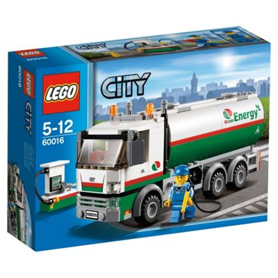 LEGO City Town Tanker Truck 60016