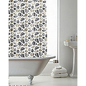 Country Club Shower Curtain Pebbles 180 x 180cm