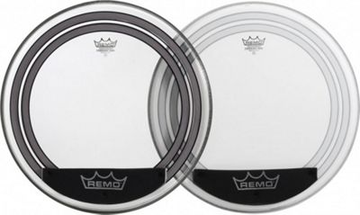 Remo Powersonic Clear Bass Drum Head (24in)