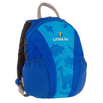 Littlelife Blue Dinosaur Daysack with Rein 1 - 3 years