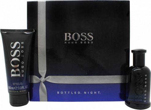 Hugo Boss Boss Bottled Night Gift Set 50ml EDT + 100ml Shower Gel For Men