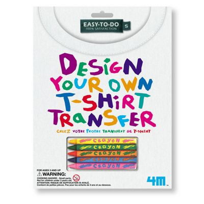 4M Design Your Own T-Shirt Transfer