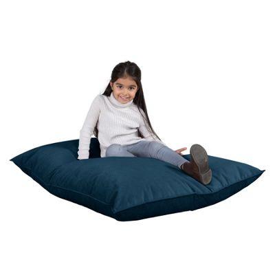 Lounge Pug® Junior Childrens Beanbag- Velvet Midnight Blue