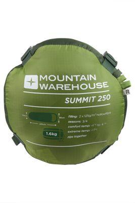 Mountain Warehouse Summit 250 Sleeping Bag