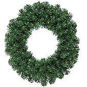 Green Christmas Door Wreath - Dark Green - 50cm Diameter