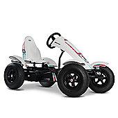 Pedal Go Kart - White Off Road Go Kart with 3 Speeds - BERG Race BFR-3