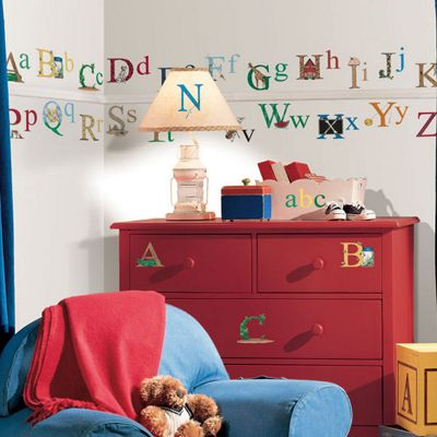 Childrens Wall Stickers - Alphabet