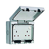 SMJ IP66 Twin 13A Socket