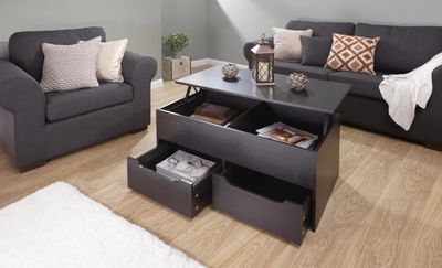 Ultimate Storage Coffee Table Espresso