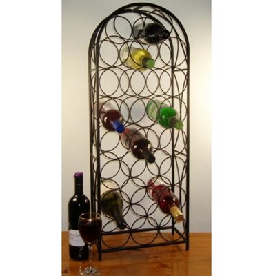 Cranville Wine racks Cranville 23 Castello Wine rack - Black