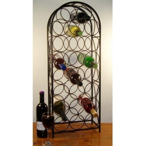 Cranville Wine racks Cranville 23 Castello Wine rack - Black
