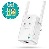 TP-Link TL-WA860RE 300 Mbps Wireless Range Extender with AC Passthrough